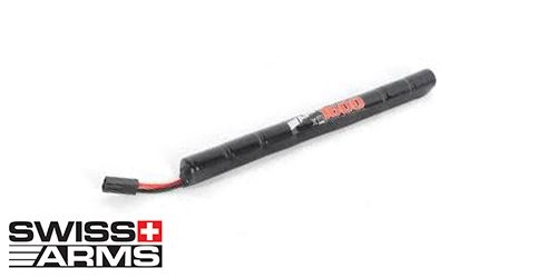 Batterie SWISS ARMS NiMH type 'Stick' 9,6V 1600mAh