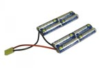 Batterie SWISS ARMS NiMH type Double 9.6V 2000mAh