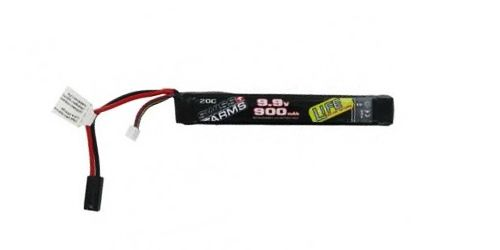 Batterie SWISS ARMS stick LiFe 9,9V 900mAh 20C