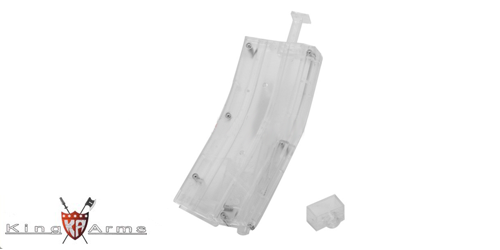 BB Loader 450 billes transparent King Arms