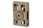 Belt Loop Attachment, for polymer holster, FDE