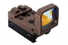 Blackcat Airsoft Folding Red Dot Sight - Tan