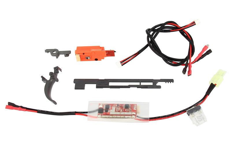 Bloc détente électronique ETU 2.0 & Mosfet 3.0 Gearbox V3 G&G Armament