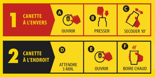 notice d\'utilisation pour boisson chaude outdoor warm up