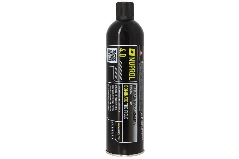 Bouteille de gaz 4.0 Premium black gaz 1000ml Nuprol