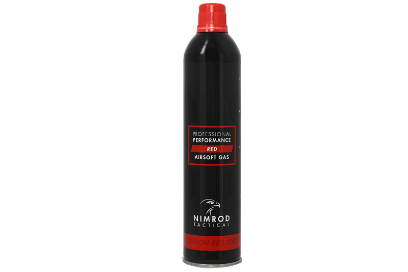 Bouteille de Red gaz 500ml Professional Performance Nimrod
