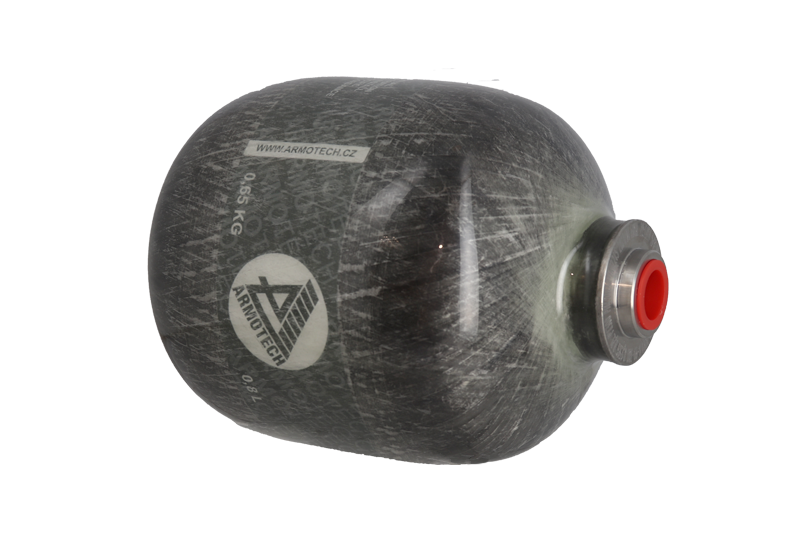 Bouteille HPA 0.8 L 4500 PSI Standard Carbone Armotech
