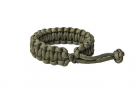 """Bracelet Paracorde \""""Mad Max\"""" Army Green"""