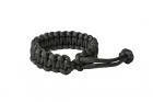 "Bracelet Paracorde \""Mad Max\"" Black"