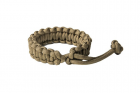 "Bracelet Paracorde ""Mad Max\"" Coyote Brown"