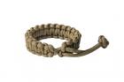 "Bracelet Paracorde \""Mad Max\"" Coyote Brown"