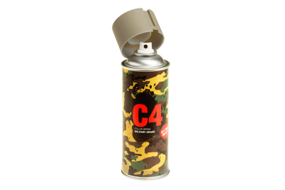 C4 Mil Grade Color Spray Flat Dark Earth (Armamat)