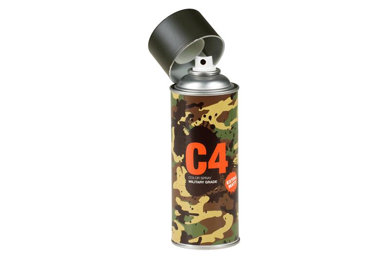C4 Mil Grade Color Spray RAL 6006 Armamat