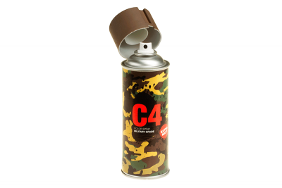 C4 Mil Grade Color Spray RAL8027
