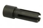 Cache flamme en acier pour Kriss Vector 16mm CW Angry Gun
