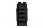 Cartouchière 5 cartouches Shotgun Noir 5.11, idéale pour vos parties d'airsoft en CQB au fusil à pompe