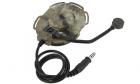 Casque Bowman Evo III A-TACS Z-TACTICAL pour système de communication entre joueurs pour parties d'airsoft