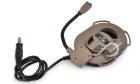 Casque Bowman IV DE Z-Tactical pour équipement de communication audio airsoft.