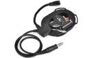 Casque Bowman IV Noir Z-Tactical pour équipement de communication audio d'airsoft.