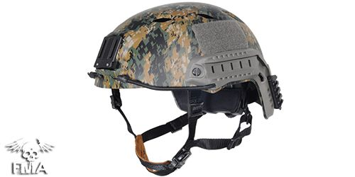 Casque Fast Helmet Type Digital Woodland FMA - 1
