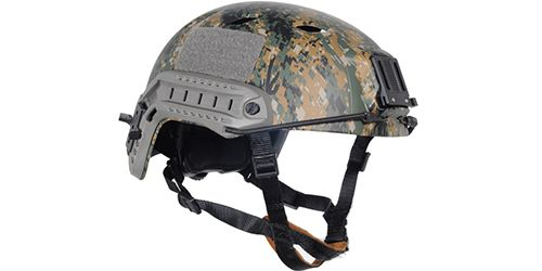 Casque Fast Helmet Type Digital Woodland FMA
