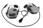 Casque Helmet version Ear-Muff Grey M32H MOD 3 Earmor