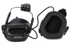 Casque Helmet version Ear-Muff Noir Earmor
