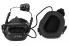 Casque Helmet version Ear-Muff Noir Earmor