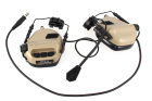 Casque micro Ear-Muff Helmet DE version Earmor