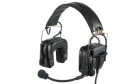 Casque ZcomTAC IV Noir Head Set Z-TACTICAL Z038-BK