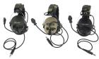 Casque zSORDIN OD / DE / Noir Z-TACTICAL réducteur de son avec micro intégré, idéal pour l'airsoft