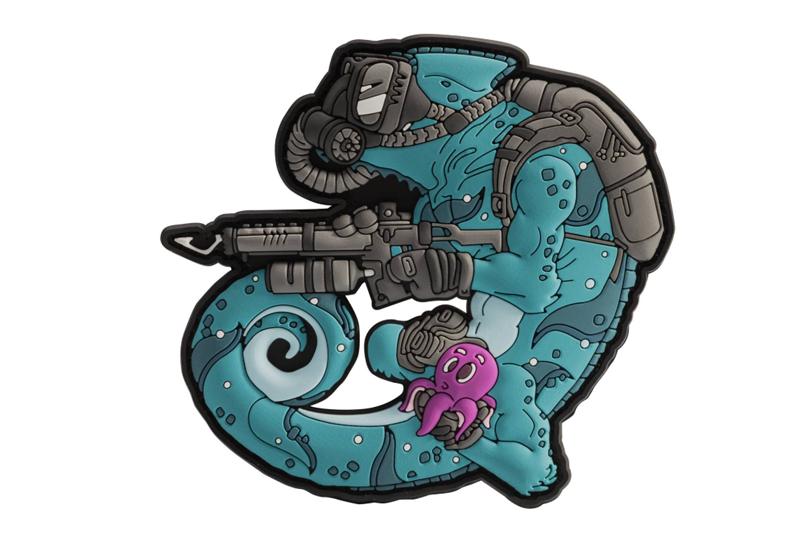 Chameleon Diver Patch - Blue / Black A Helikon