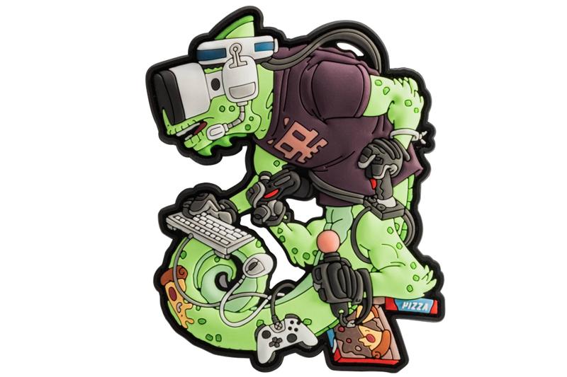 Chameleon Gamer Operator Patch - Green Helikon