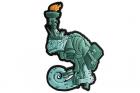 Chameleon Liberty Lily Patch - Green Helikon