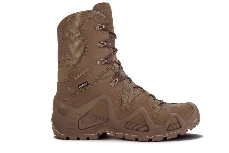 Chaussures tactiques Zephyr GTX HI TF Coyote OP LOWA