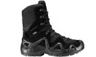 Chaussures tactiques Zephyr GTX HI TF Noir LOWA pour la pratique de l'airsoft, situation réelle et activités outdoor.