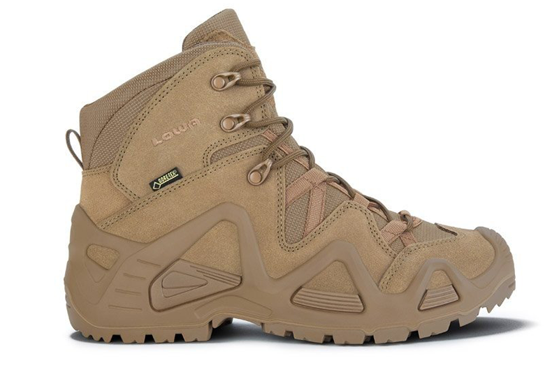 Chaussures tactiques Zephyr GTX MID TF Coyote OP LOWA
