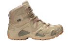 Chaussures tactiques Zephyr GTX MID TF Desert LOWA pour la pratique de l'airsoft, situation réelle et activités outdoor.