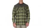 Chemise Sidewinder Flannel Vert Mosstone 5.11 tactical idéale pour les activités outdoor