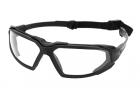 Clear lens tactical protective glasses