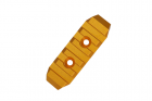 CNC KEYMOD rail GOLD 65mm SLONG