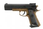 COLT MK IV Tan / Noir Spring Cybergun