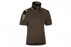 Combat Shirt Sleeve Woodland INVADER GEAR