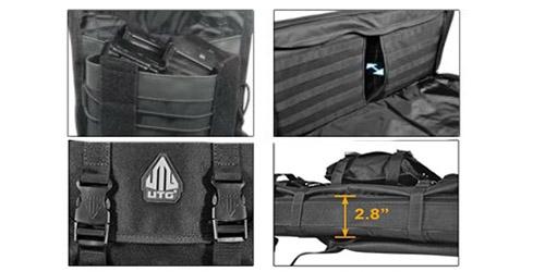 combat web 38 gun case black utg 4