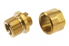 COWCOW Technology A01 Stainless Steel Silencer Adapter (11mm CW to 14mm CCW) - Gold
