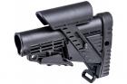 Crosse CBSCP avec appuie-joue CAA pour tube de crosse type AR15 commercial