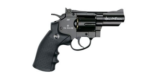 "DAN WESSON 2.5"" Revolver Noir CO2"