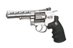 "DAN WESSON 4"" Revolver Silver CO2"