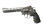 "DAN WESSON 6"" Revolver Silver CO2"