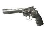 """DAN WESSON 6\"""" Revolver Silver CO2"""